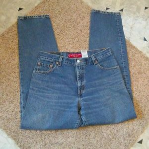 Vintage Levi's 550 Relaxed Tapered Mom Jeans!